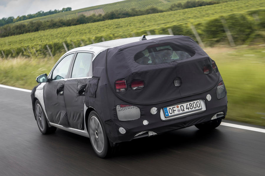 Hyundai i30 rear