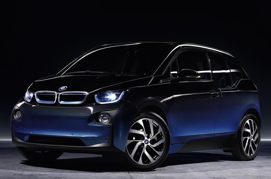 BMW i3 and i8 Garage Italia Crossfade concepts