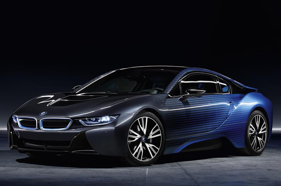 Bmw reveals new i3 and i8 garage italia crossfade concepts for Garage bmw paris 12