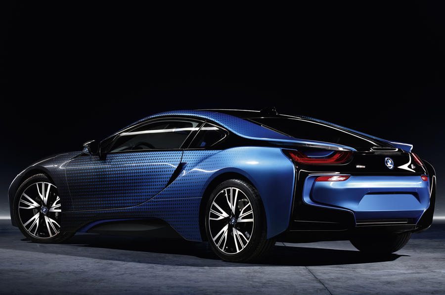 BMW i3 and i8 Garage Italia Crossfade concepts