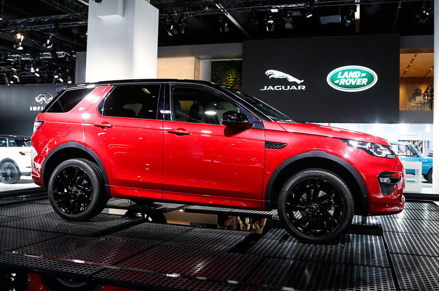 Range Rover Discovery Sport >> Land Rover Discovery Sport HSE Dynamic Lux revealed at ...