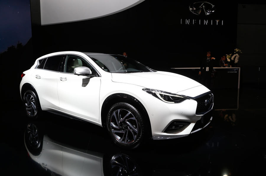 new infiniti q30 revealed at frankfurt motor show autocar. Black Bedroom Furniture Sets. Home Design Ideas
