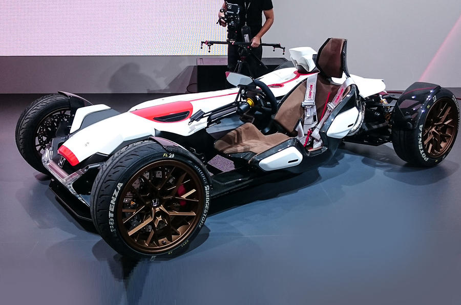 Honda Project 2&4 concept previews future Ariel Atom rival ...