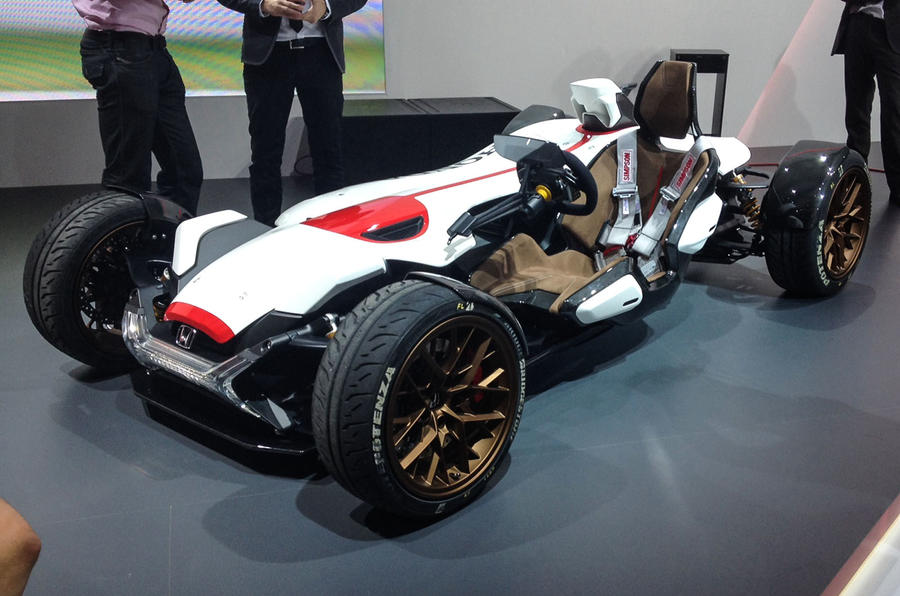 honda project 2 4 concept previews future ariel atom rival autocar. Black Bedroom Furniture Sets. Home Design Ideas