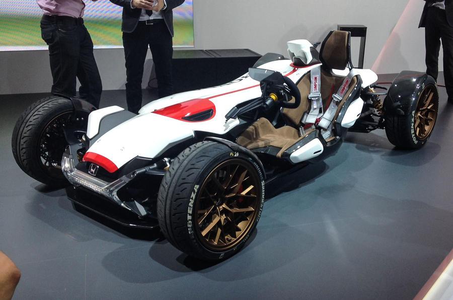 Honda Project 2&4 concept previews future Ariel Atom rival   Autocar
