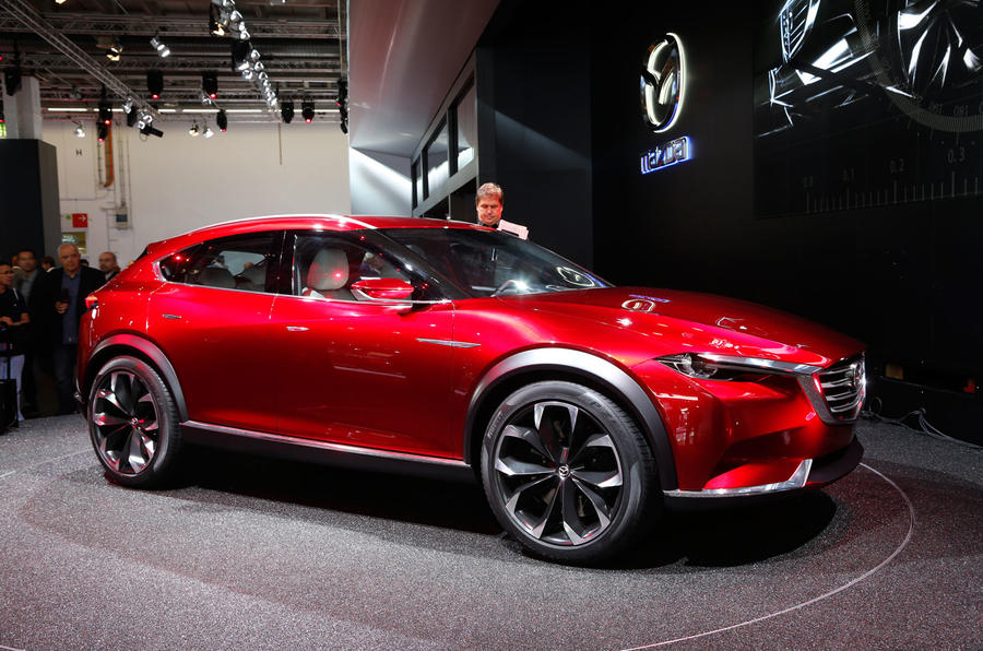Mazda Cx 6 2018 >> Mazda ponders how Koeru crossover coupé might fit into ...