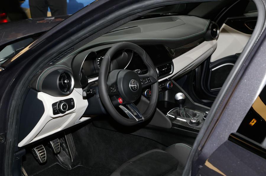 Inside the new Alfa Romeo Giulia | Autocar