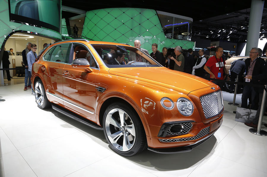 New 160k Bentley Bentayga Is Sold Out For First Year Of Production