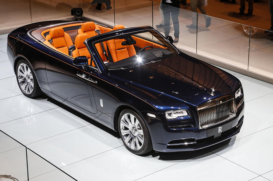 2016 Rolls-Royce Dawn revealed - exclusive studio pictures ...