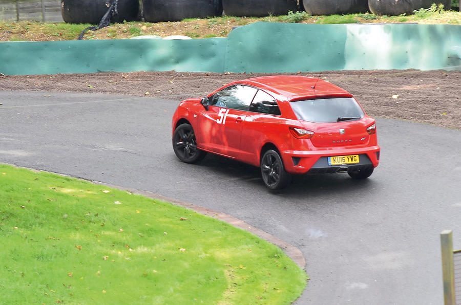 Seat Ibiza Cupra long-term test review: trying out a hillclimb