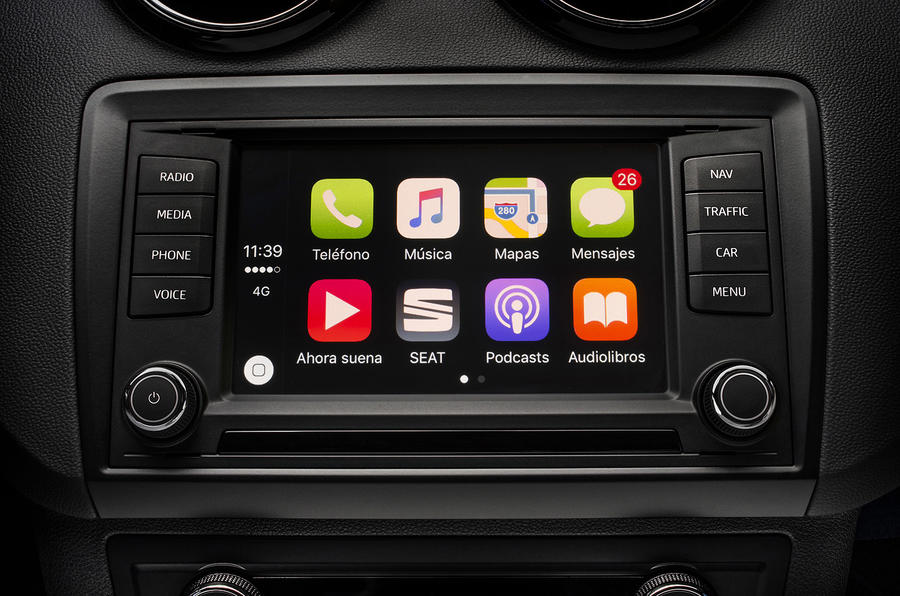 Seat Ibiza Cupra Carplay