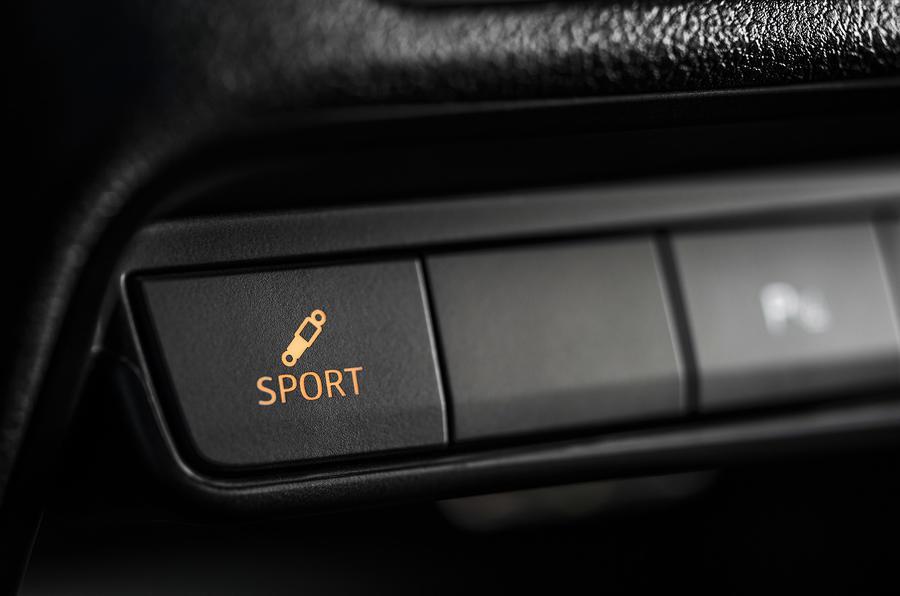 Seat Ibiza Cupra dynamic control