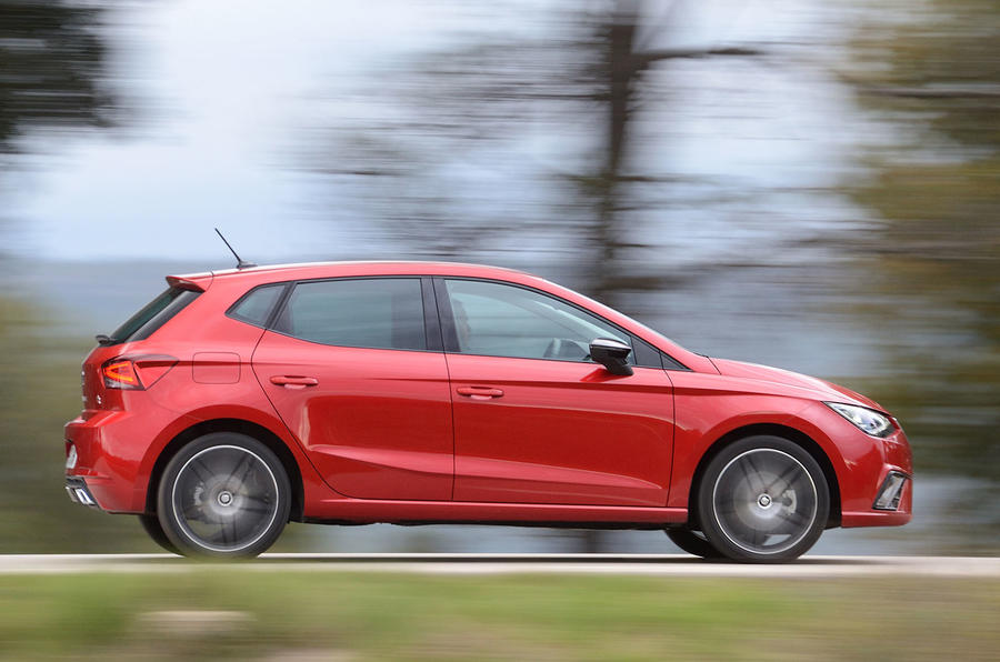 Seat Ibiza from side