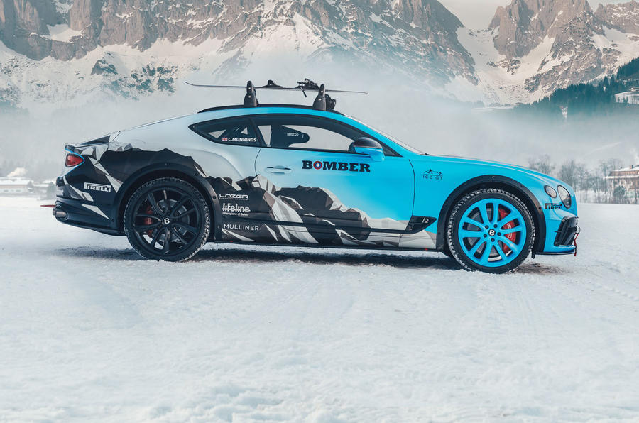 2020 Bentley Ice Race Continental GT - static side