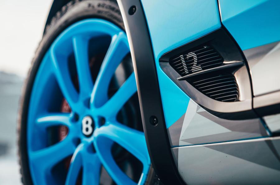 2020 Bentley Ice Race Continental GT - front wheel