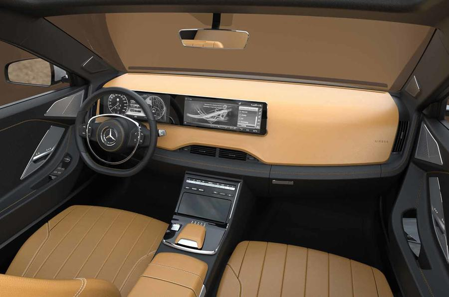 Mercedes Benz Icon E Concept Is Reimagined Classic Saloon