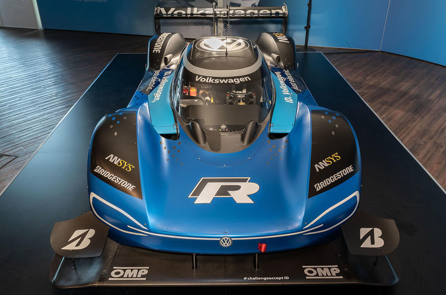Volkswagen charges to new Goodwood record with all-electric ID.R