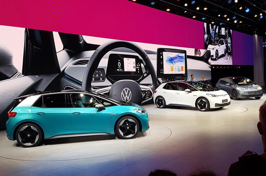 Volkswagen ID 3 reveal - Frankfurt motor show 2019