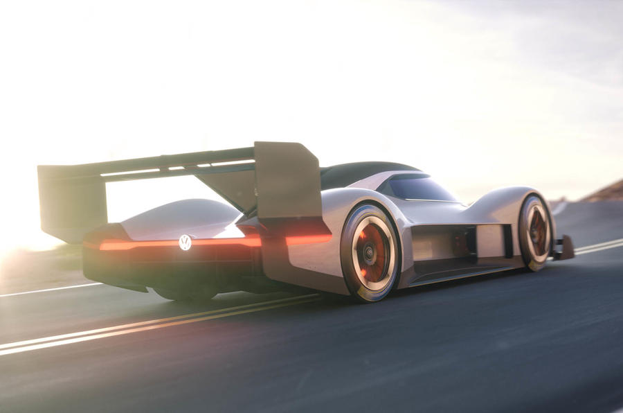 Volkswagen all-electric prototype racer to compete in Pikes Peak event in June