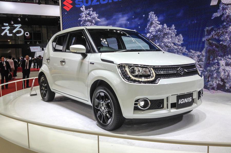Suzuki Ignis Hatchback Revealed In Tokyo