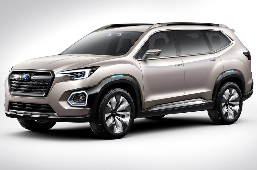 7 Seater Suv 2017 >> Subaru Ascent Name Confirmed For Upcoming Seven Seat Suv