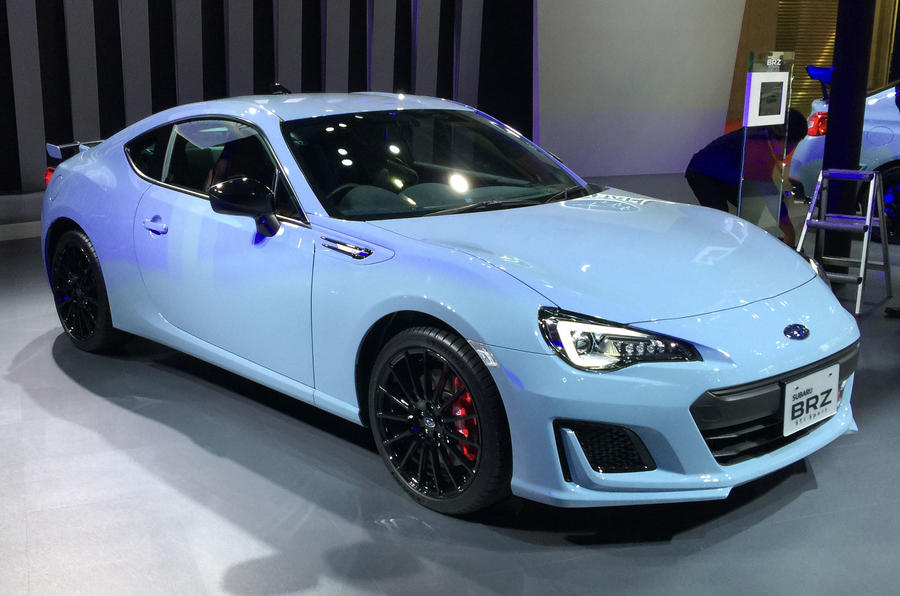 Subaru Brz Sti Sport Launched For Japan As Most Driver