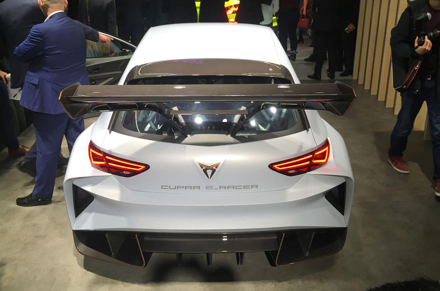Cupra unveils e-Racer electric racing car