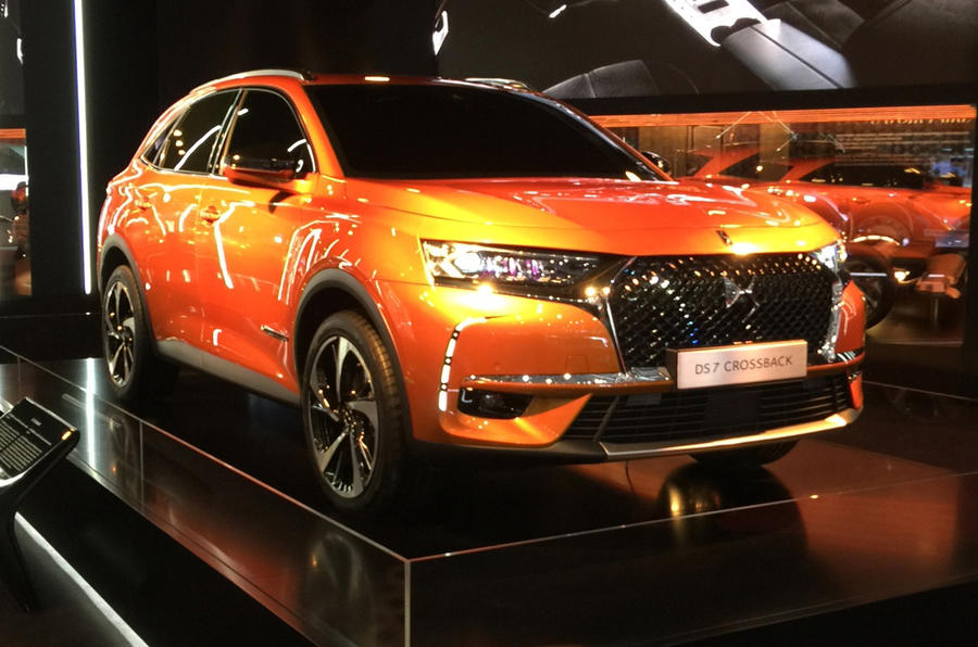 2017 DS 7 Crossback – Audi Q5 rival lands at Geneva