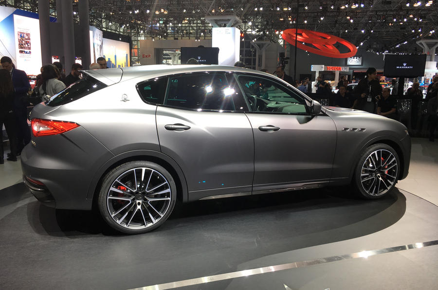 Maserati unveils its most powerful auto, a 590 horsepower SUV