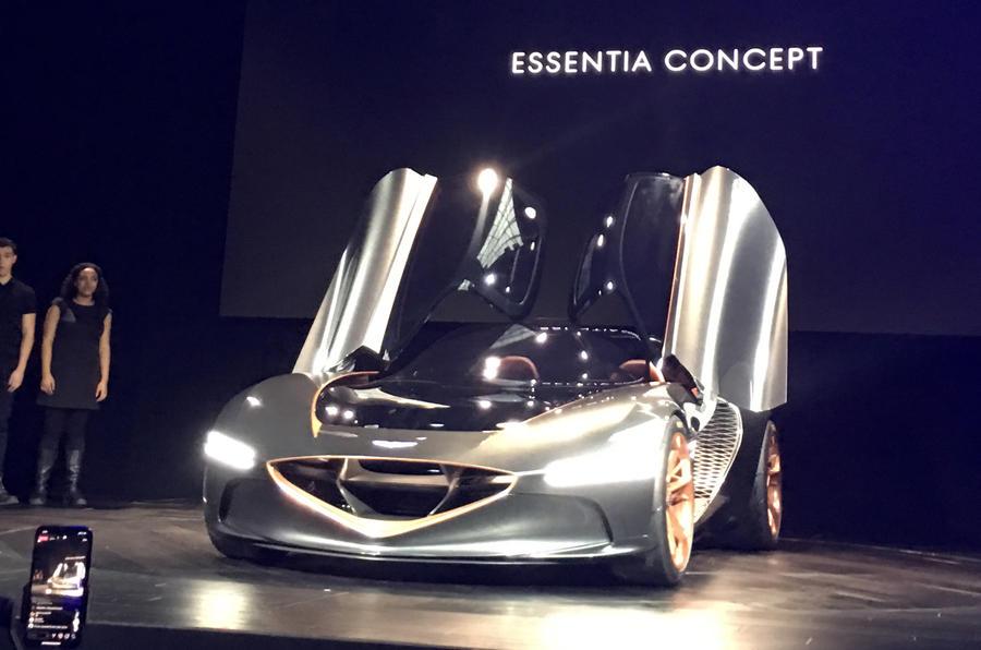Genesis Essentia Concept unveiled at New York Motor Show