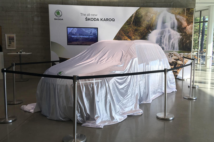 Skoda Karoq to be revealed at 7pm today