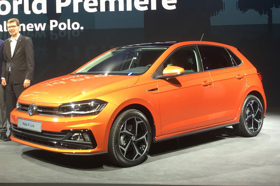 2017 volkswagen polo revealed new pictures of ford fiesta rival autocar. Black Bedroom Furniture Sets. Home Design Ideas
