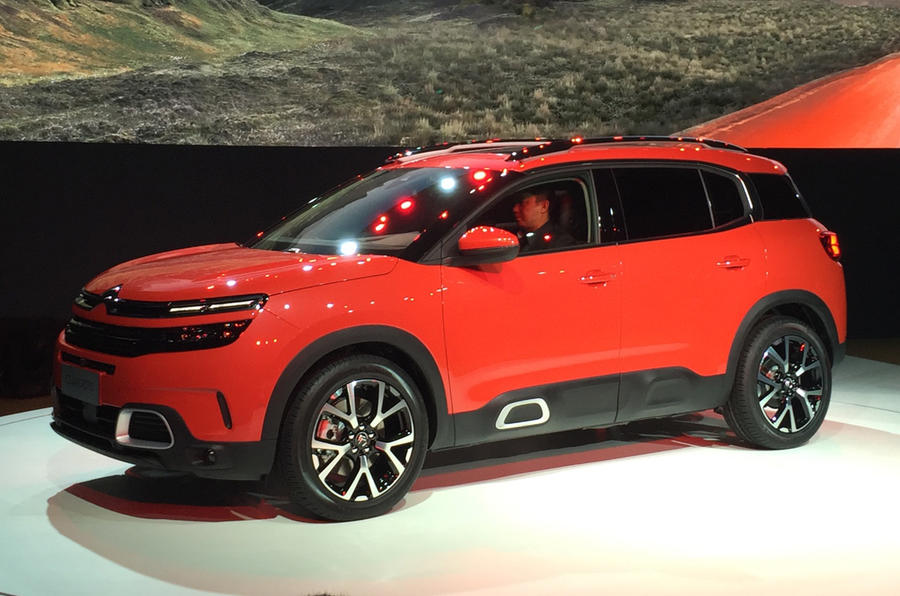 citroen c5 aircross revealed at shanghai motor show autocar. Black Bedroom Furniture Sets. Home Design Ideas