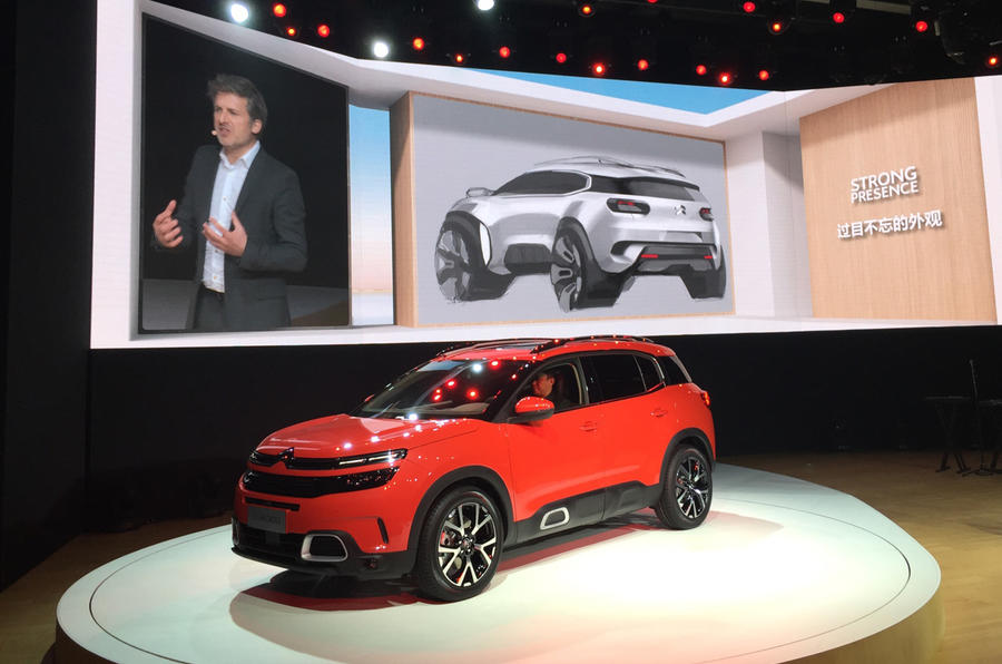 Citroen C5 Aircross Officially Revealed, Premieres Innovative Hydraulic Suspension