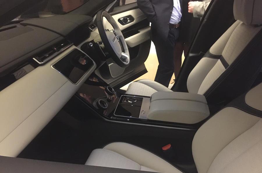 Range Rover Velar Interior A Leather Free Luxury Car Yes Please