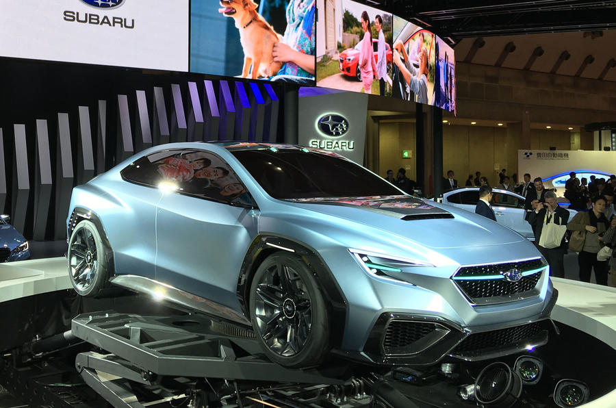 Subaru Viziv Performance Concept Details Next Generation Wrx