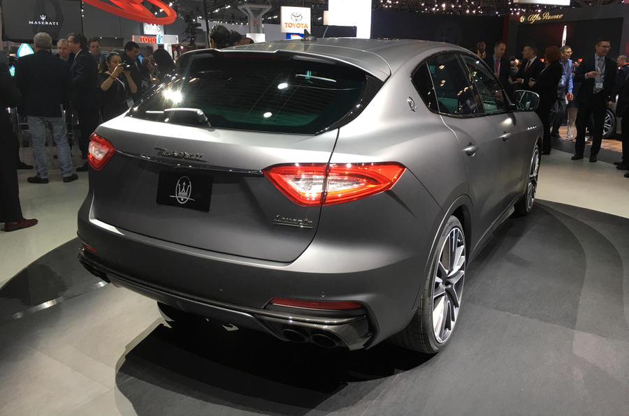 Maserati launches new V8 Levante Trofeo SUV capable of 187mph
