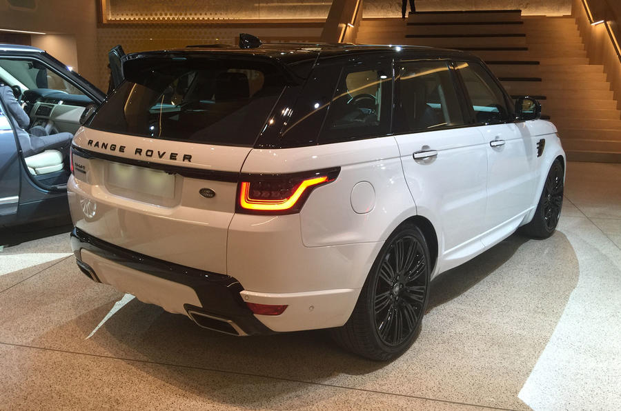New Range Rover Sport arrives at LA motor show | Autocar