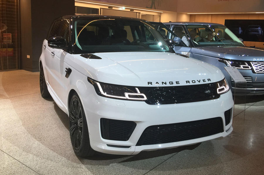 New Range Rover Sport Arrives At La Motor Show Autocar