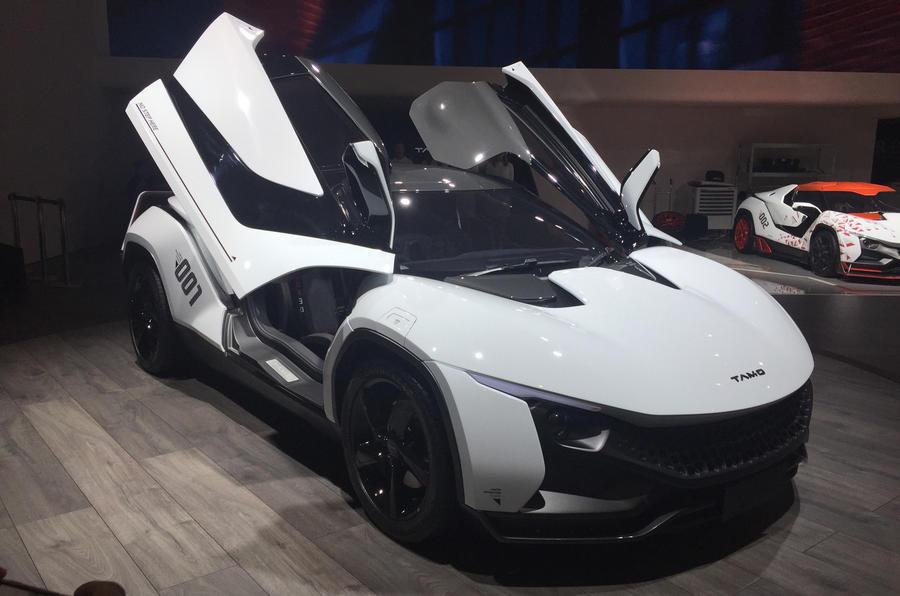 Tamo Racemo sports car revealed in Geneva
