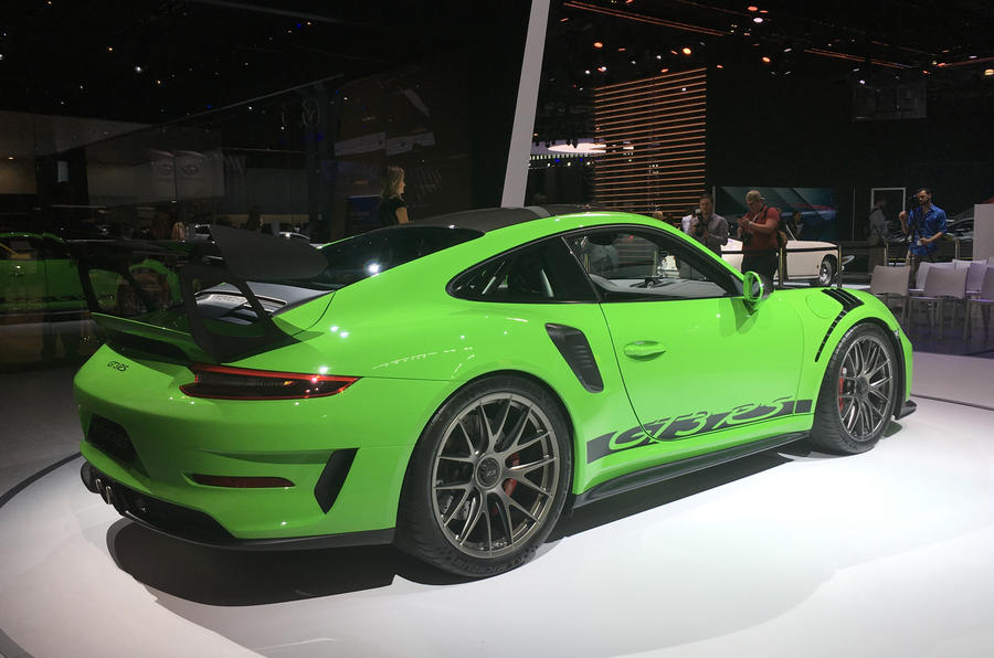 2018 Porsche 911 GT3 RS: Weissach pack revealed with 29kg weight loss