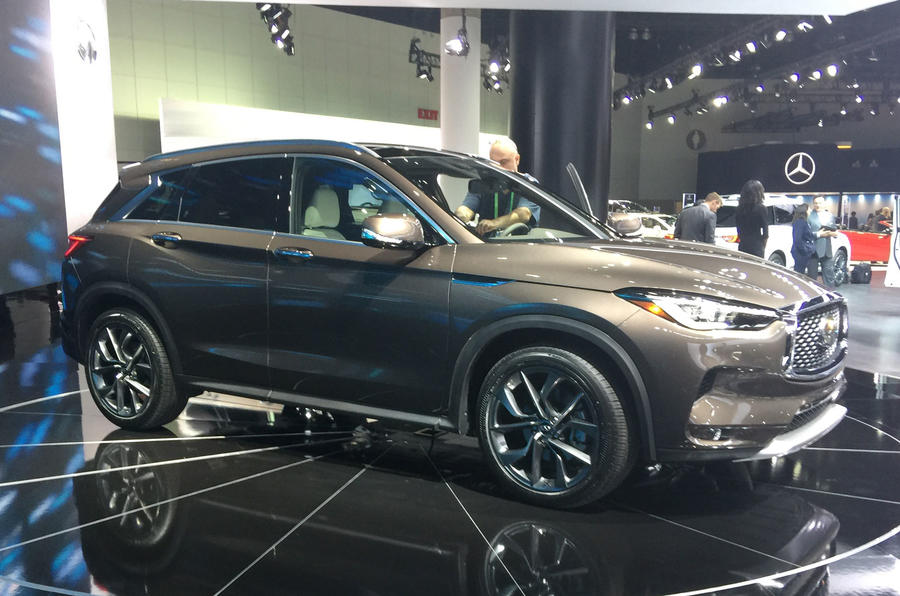 New Infiniti QX50 targets Europe with variable compression ratio engine