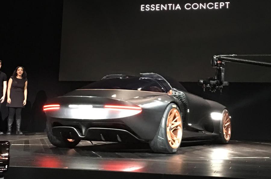 Genesis Essentia Concept Previews Electric Gt Set Autocar