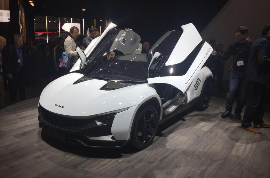 Tamo Racemo sports car revealed in Geneva