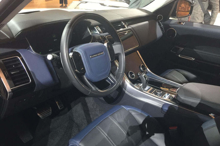 Range Rover Sport Interior >> New Range Rover Sport Arrives At La Motor Show Autocar