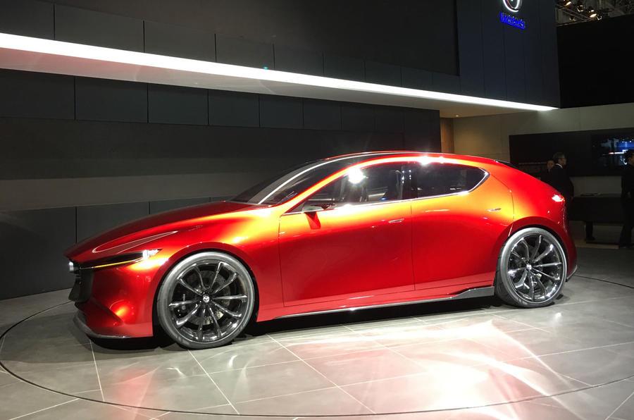 Striking Mazda Kai concept previews new 3 hatch for 2019