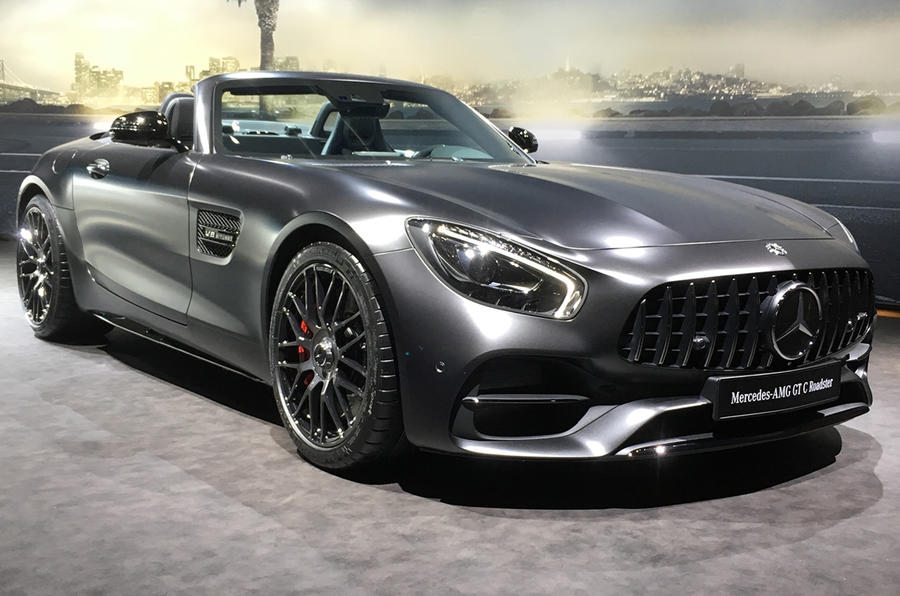 mercedes amg gt c roadster edition 50 heads trio of. Black Bedroom Furniture Sets. Home Design Ideas