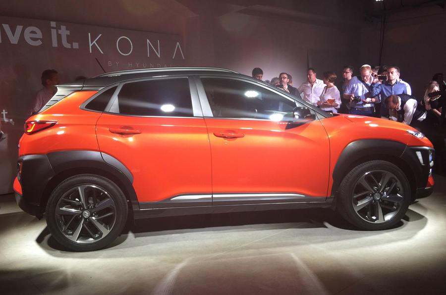 Hyundai Kona revealed – new European pics of Nissan Juke rival