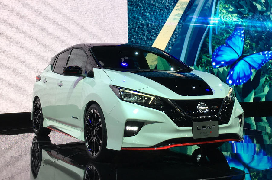 Nissan Leaf Nismo concept previews upcoming production version
