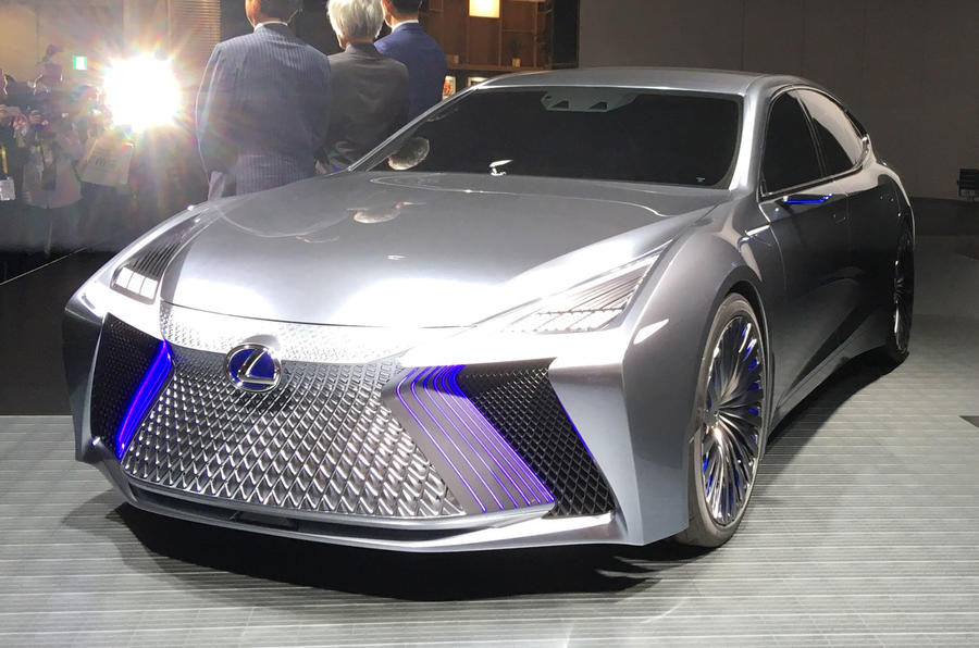 Lexus Ls Concept Illustrates Autonomous Tech Due In 2020